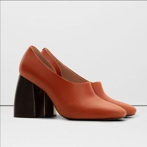 Shoes - ISO Mango block heels size 4uk 6 or 6/12 US